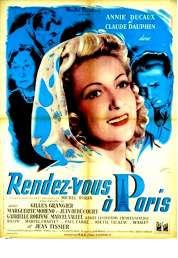 Affiche du film Rendez Vous a Paris