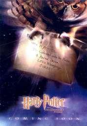 L'affiche du film Harry Potter à l'école des sorciers