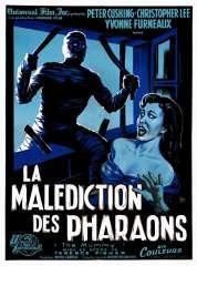 Affiche du film La malediction des pharaons