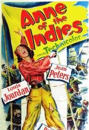 Affiche du film La flibustière des Antilles