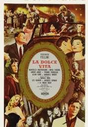 L'affiche du film La dolce vita