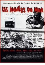 Affiche du film Les années du mur