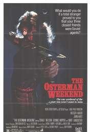 Affiche du film Osterman Week End