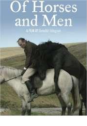 L'affiche du film Des chevaux et des hommes