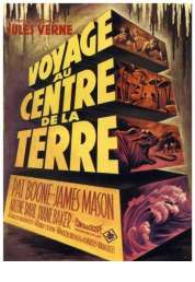 Affiche du film Voyage au centre de la terre