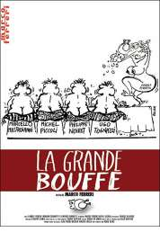 L'affiche du film La grande bouffe