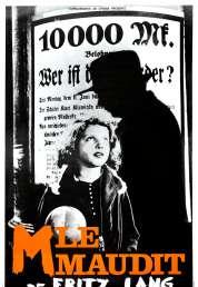 L'affiche du film M le maudit