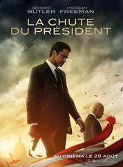 L'affiche du film La Chute du président