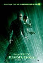 L'affiche du film Matrix revolutions