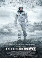 L'affiche du film Interstellar