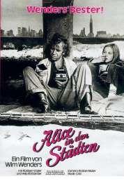 L'affiche du film Alice dans les villes