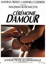 Affiche du film Ceremonie d'amour