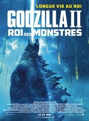 L'affiche du film Godzilla II Roi des Monstres