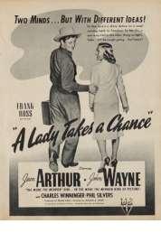 Affiche du film La Fille et Son Cow Boy