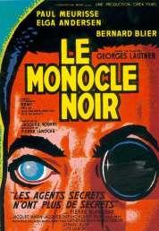 Affiche du film Le monocle noir