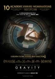 L'affiche du film Gravity