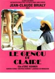 L'affiche du film Le genou de Claire