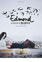Affiche du film Edmond, un portrait de Baudoin