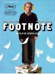 Affiche du film Footnote