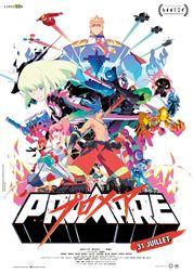 L'affiche du film Promare