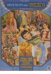 Affiche du film Deux nuits avec cleopatre