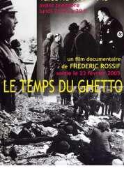 L'affiche du film Le temps du ghetto
