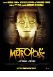 L'affiche du film Metropolis