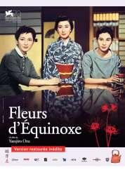 Affiche du film Fleurs d'équinoxe