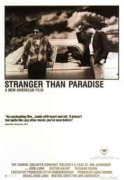 L'affiche du film Stranger than paradise