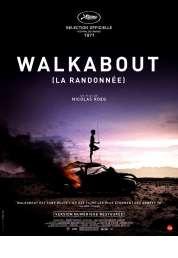 L'affiche du film Walkabout (la randonnée)