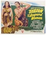 Affiche du film Tarzan et la Femme Leopard