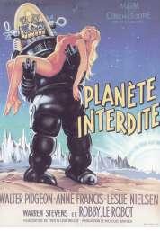 Affiche du film La planète interdite