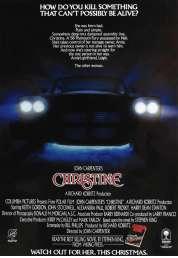L'affiche du film Christine