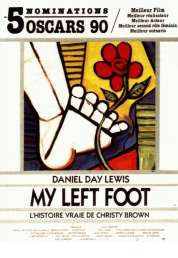 Affiche du film My left foot