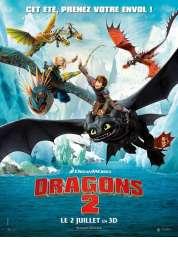 L'affiche du film Dragons 2
