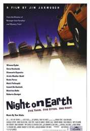 L'affiche du film Night on earth