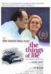 Affiche du film Les choses de la vie