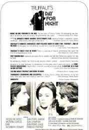 L'affiche du film La nuit américaine