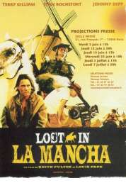 Affiche du film Lost in la Mancha