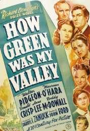 Affiche du film Qu'elle Etait Verte Ma Vallee