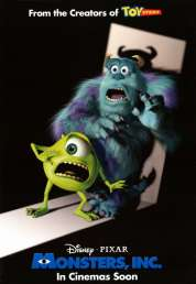L'affiche du film Monstres et Cie