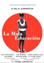 L'affiche du film La mauvaise éducation