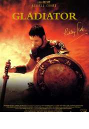 L'affiche du film Gladiator