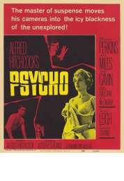 L'affiche du film Psychose
