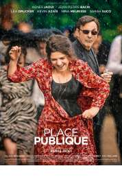 L'affiche du film Place publique