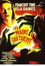 Affiche du film Les mains qui tuent