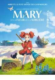 L'affiche du film Mary et la fleur de la sorcière