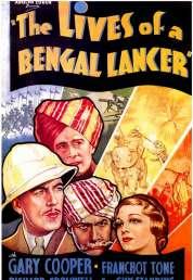 Affiche du film Les trois lanciers du Bengale