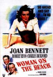 Affiche du film La femme sur la plage