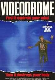 L'affiche du film Vidéodrome
